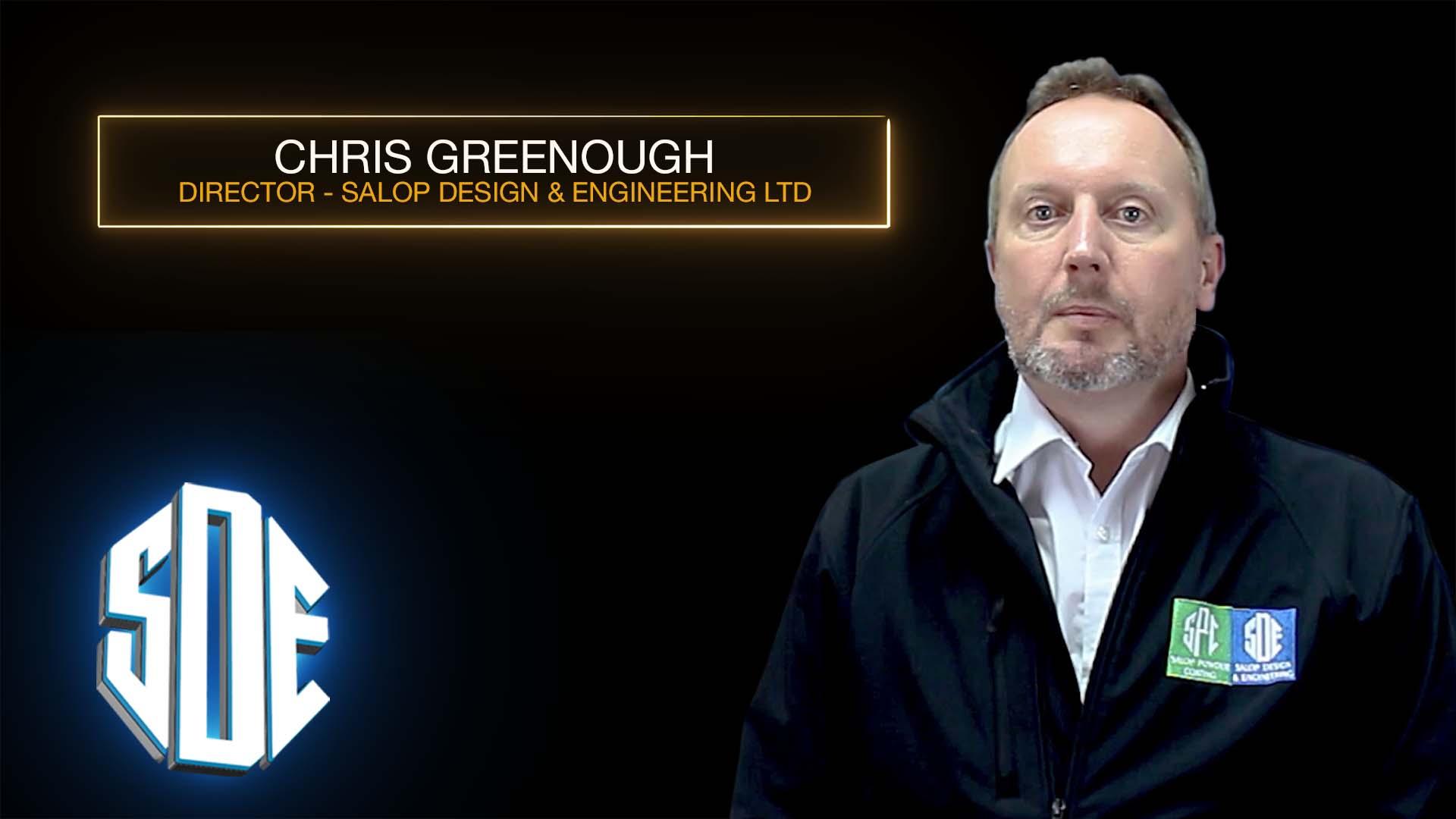 Chris Greenough Testimonial